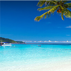 Playa en Montego Bay, Jamaica