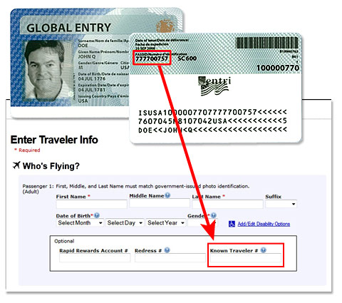 traveler info pass ID