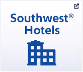 "Icon of hotel with the word ""Southwest Hotels"" above it"