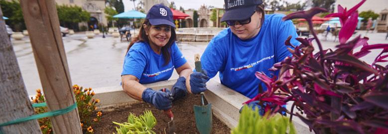 ¡Nos encanta el trabajo voluntario!